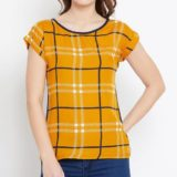 Polyester Crepe Tops